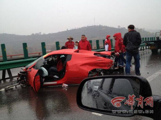 36 Ruined Supercars.