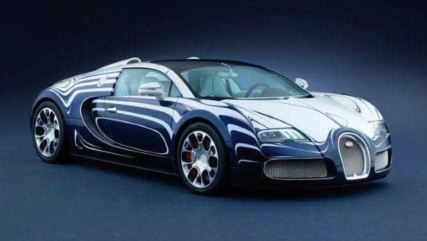 Bugatti Veyron Lu0027Or Blanc