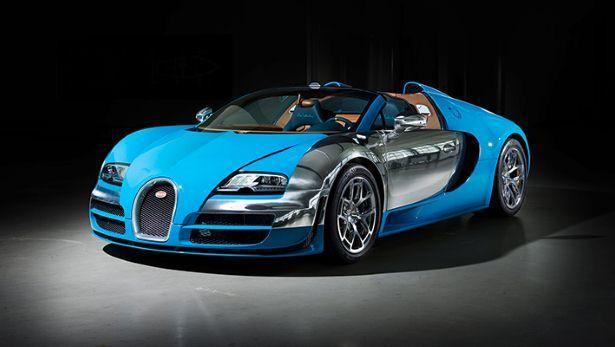 Bugatti Veyron Les Legendes De Bugatti Meo Costantini Edition
