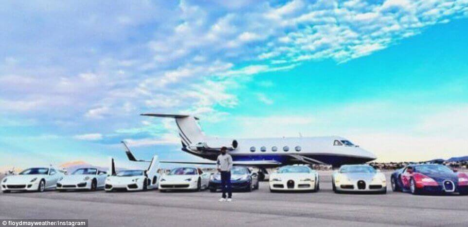 Floyd mayweather s ridiculous car collection 4 videos and 18
