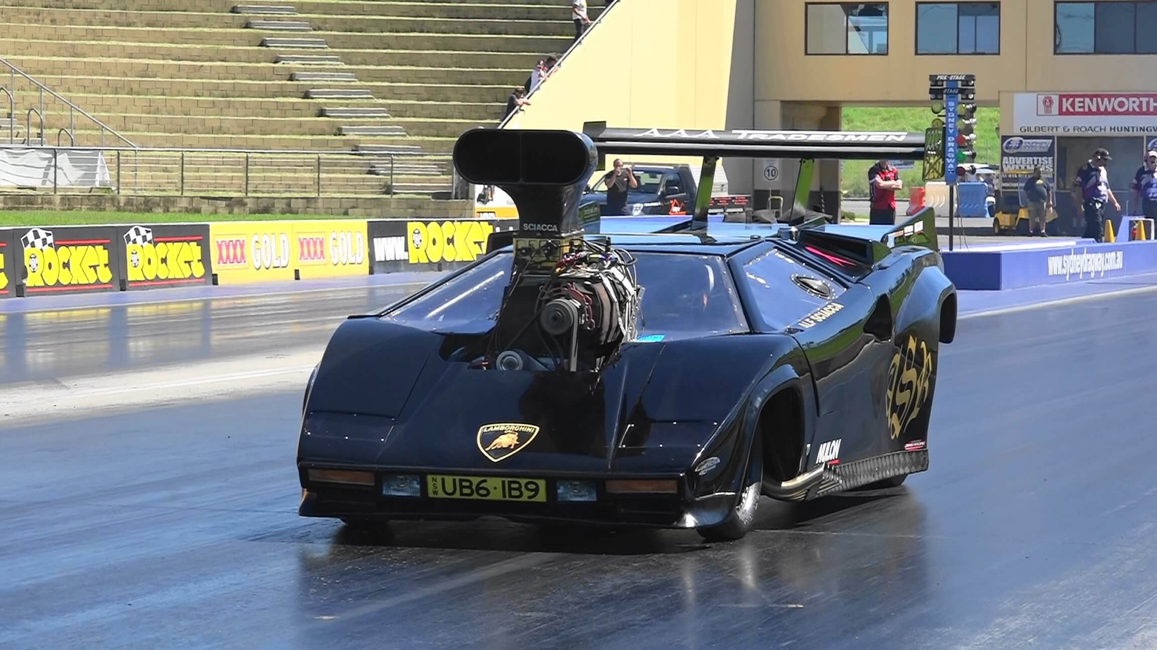 You Have To See This Lamborghini Dragster Exotic Whips Tv