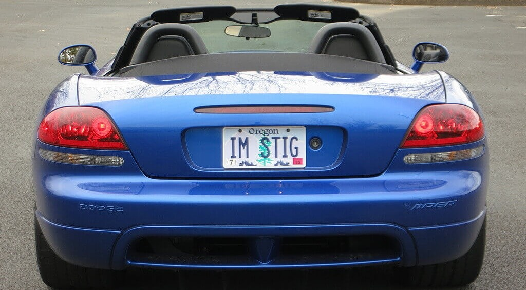 Vanity Plates On A Car Let Alone A Supercar Can Be The Most Annoying Thing  In The World, But When The Vanity Plate Is ...