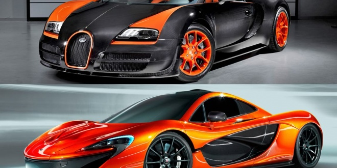 watch: mclaren p1 square off with a bugatti veyron – exotic whips tv
