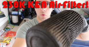 clean k&n air filter