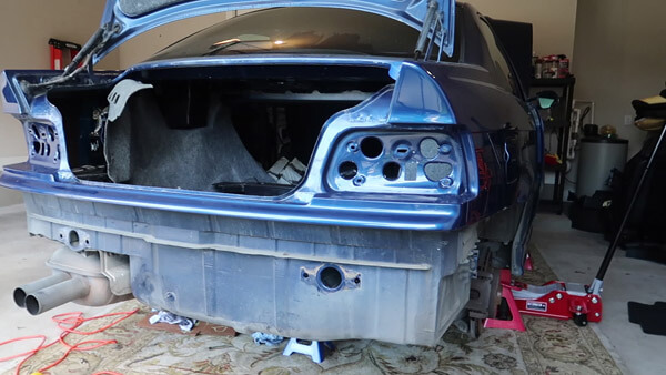 m3 rear bumper removal